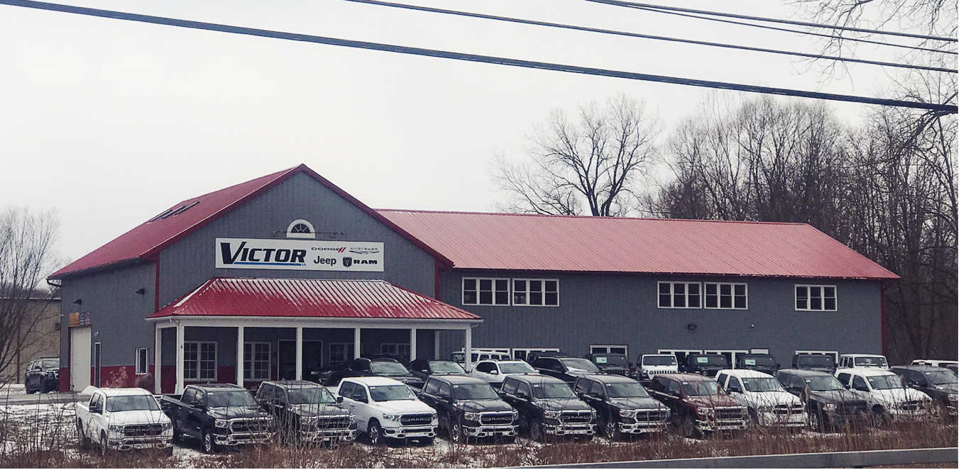 About Victor Chrysler Dodge Jeep Ram Near Canandaigua And Mendon