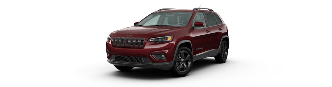 2020 Jeep Cherokee Rear View Gray Exterior Picture