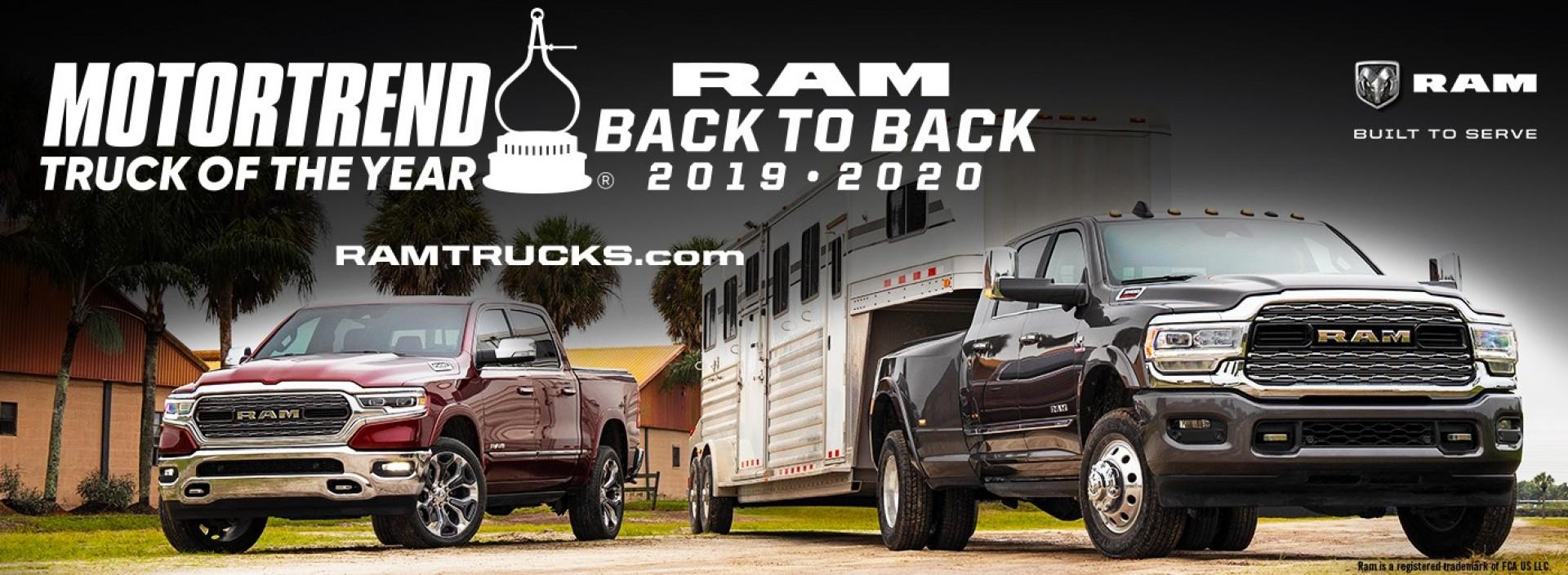RAM Back to Back